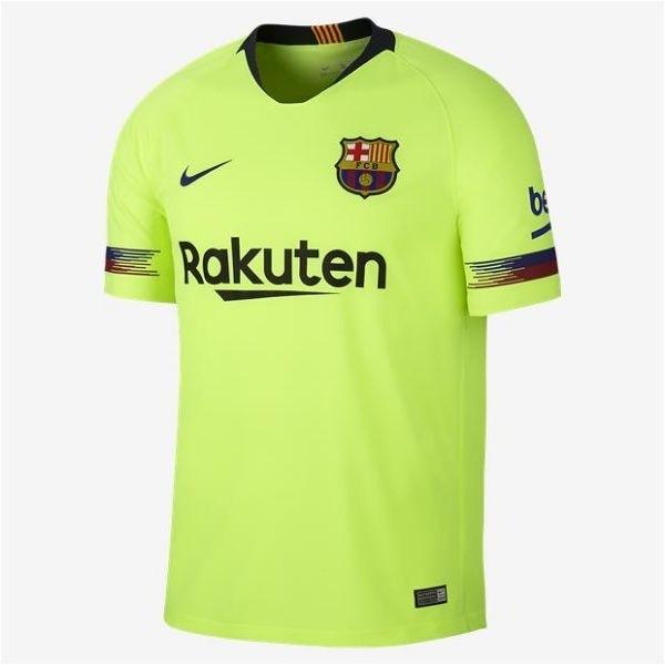 11f8e1af17c Camiseta Camisa Nike FC Barcelona 2018 2019 Futebol Stadium Home ...