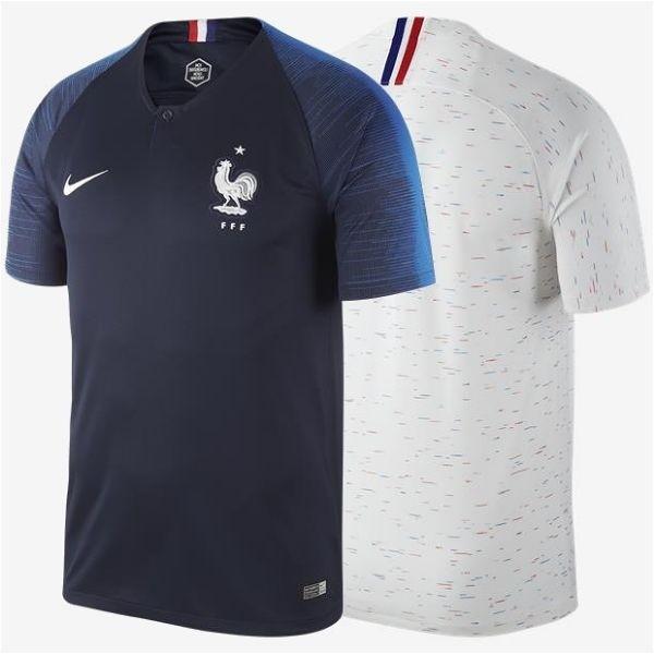 ee9df1acc8 Camiseta Camisa Nike França France I 2018 Torcedor Home Away Casa ...