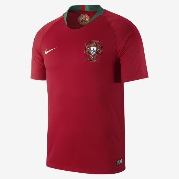 d57f09a880 ... Camiseta Camisa Nike Seleção Portugal Portuguesa I e II 2018 Torcedor  Home Away Casa Visitante Cristiano ...