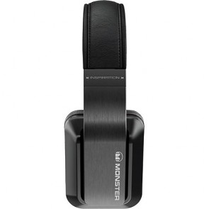 Monster Inspiration Black Over-the-Ear Headphones Fones de Ouvido - Preto