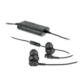 Fone de Ouvido Audio-Technica ATH-ANC33iS QuietPoint Active Noise-Cancelling In-Ear Auriculares