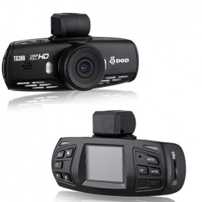 Camera Automotiva DOD TG300 1.5'' Wide View 120 Graus  FULL HD 1080P GPS Logger Warning