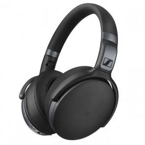 Fones de ouvido Sennheiser HD 4.40 Headphones Bluetooth Wireless com Dynamic Bass Preto