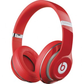 New Beats Studio 2.0 Wireless Remastered Red Vermelho Fones de Ouvido Headphones - by Dr. Dre 2014