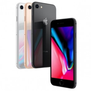 "Smartphone Apple iPhone 8 Apple com 64GB Tela Retina HD 4,7"" Câmera 12 MP Resistente à Água WiFi 4G LTE NFC"