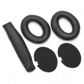 KIT Completo Replacement Substituição Reparação Arco Headband Earpad Espuma para Bose QuietComfort 15 QC15